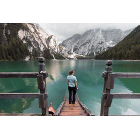 axant Alps - Chemise manches courtes femme - violet/gris